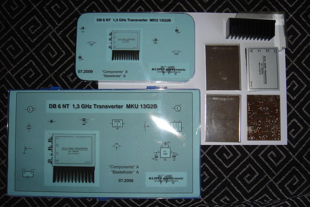 1296 MHz transverter by OZ1BXM
