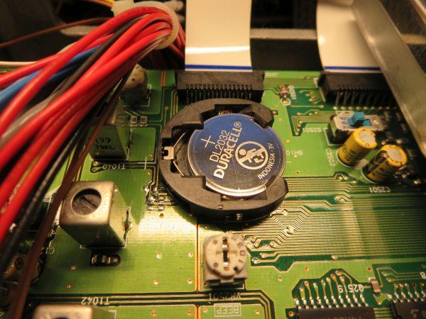CR2032 backup batteri